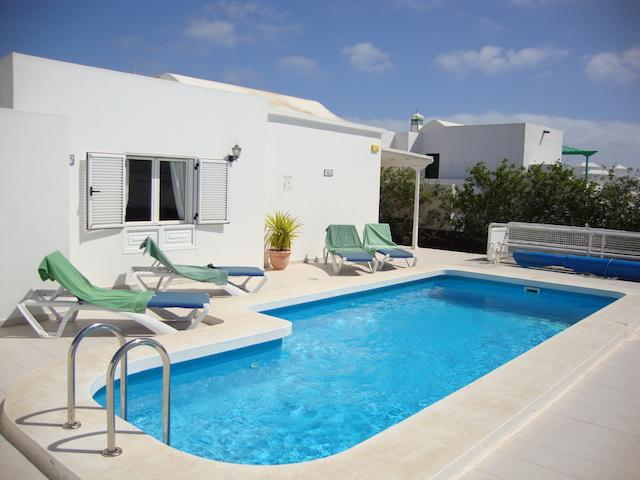 A two bedroom, two bathroom luxury Villa available for Holiday Rental in Puerto Del Carmen, Lanzarote.  Located close to the beach, bars and restaurants.