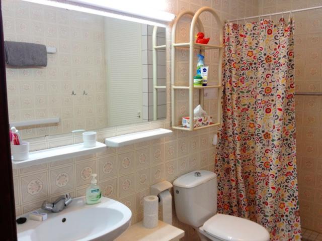 Bathroom with shower - Lovely Seaview Apartment , Puerto del Carmen, Lanzarote