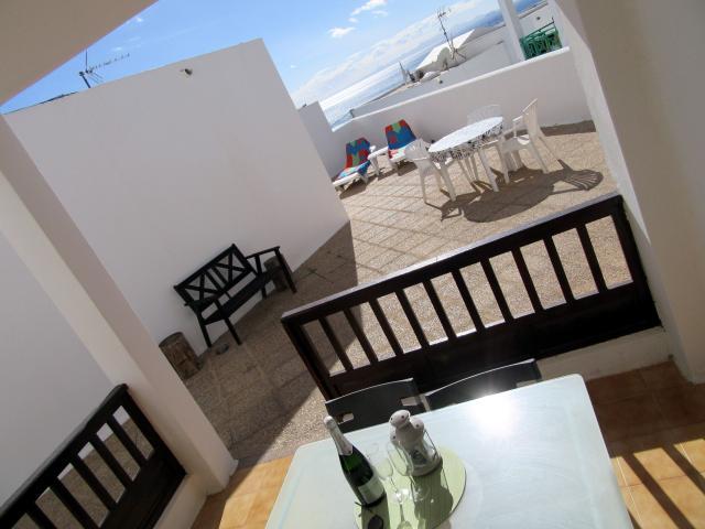 Extensive terraces with sea views - Old Town apartment, Puerto del Carmen, Lanzarote