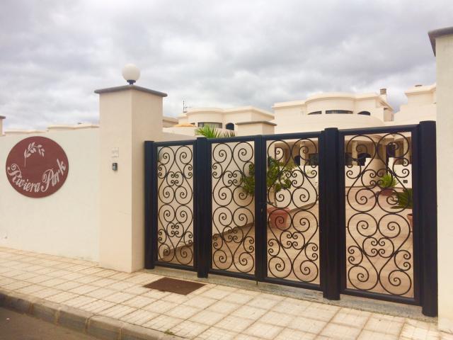 Gated Entrance - Riviera Park, Puerto del Carmen, Lanzarote