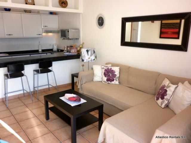 Lounge Area - Playa Park Apartment, Puerto del Carmen, Lanzarote