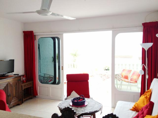Living room - Lovely Seaview Apartment , Puerto del Carmen, Lanzarote