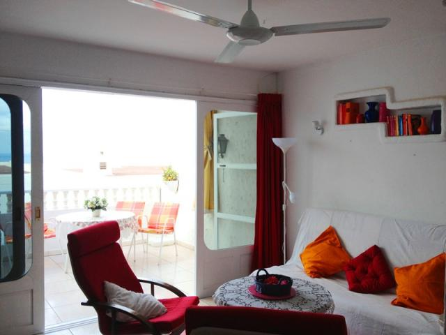 Ceiling fan with 3 speed - Lovely Seaview Apartment , Puerto del Carmen, Lanzarote