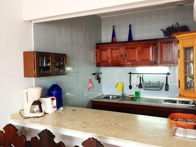 Breakfast counter - Lovely Seaview Apartment , Puerto del Carmen, Lanzarote