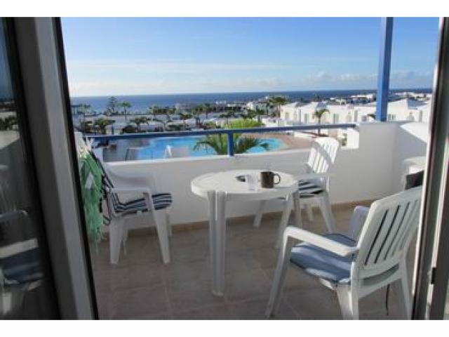1 bedroom first floor apartment with spectacular views in Matagorda. South Facing