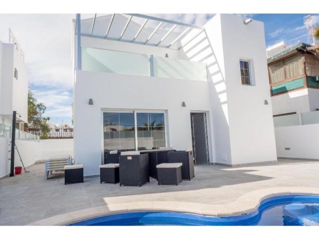 Rear of villa - Casa de Gales, Puerto del Carmen, Lanzarote