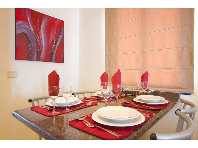 Dining area - 1 Bed - Diamond Club Calypso, Puerto del Carmen, Lanzarote