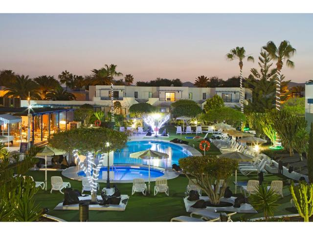 Our beautiful resort at night - 2 Bed - Diamond Club Calypso, Puerto del Carmen, Lanzarote