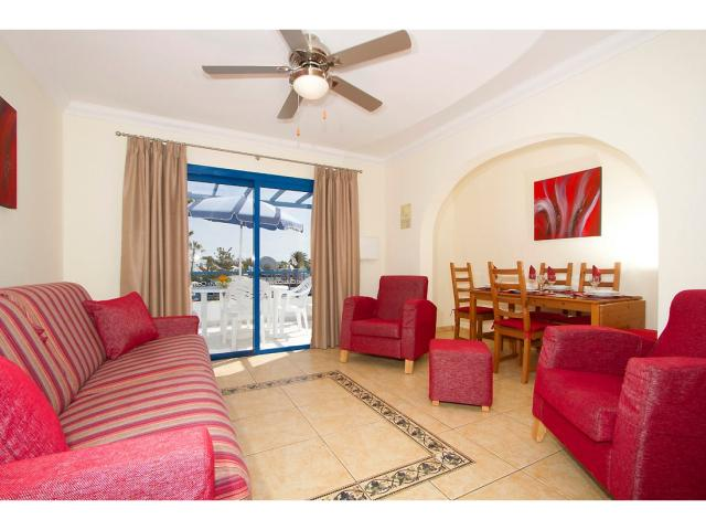 Apartment lounge area - 2 Bed - Diamond Club Calypso, Puerto del Carmen, Lanzarote