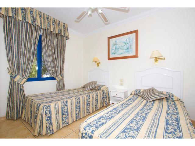 All bedrooms have twin beds - 2 Bed - Diamond Club Calypso, Puerto del Carmen, Lanzarote
