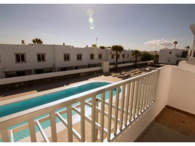 Balcony - Los Gracioseros Apartment, Puerto del Carmen, Lanzarote