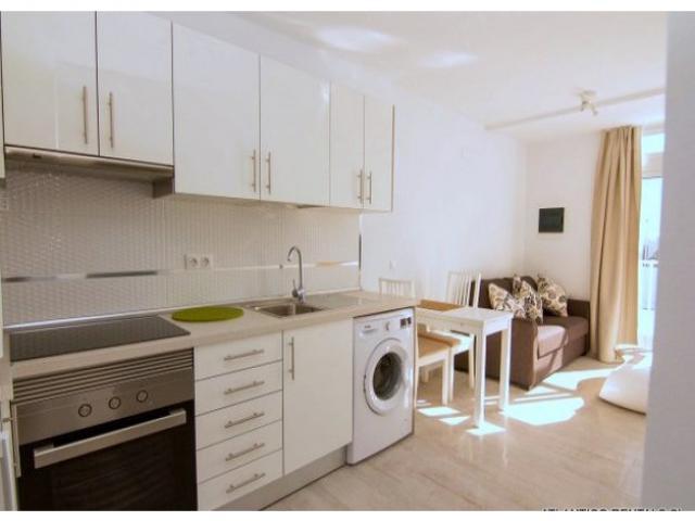 Kitchen Area - Los Gracioseros Apartment, Puerto del Carmen, Lanzarote