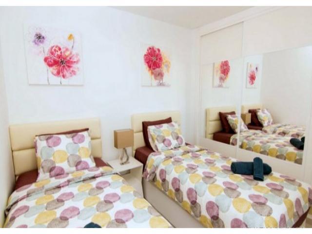Twin Bedroom - Los Gracioseros Apartment, Puerto del Carmen, Lanzarote