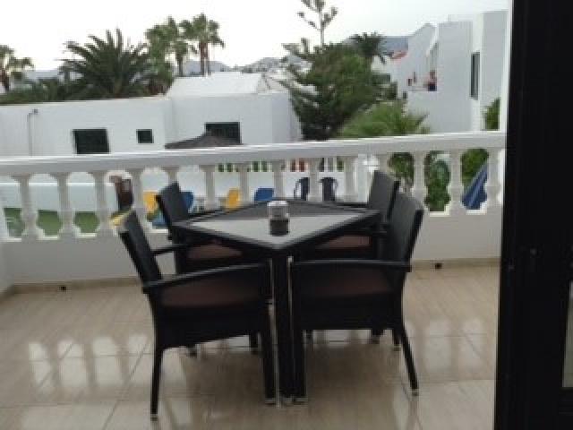 Balcony area - Columbus 4A, Puerto del Carmen, Lanzarote