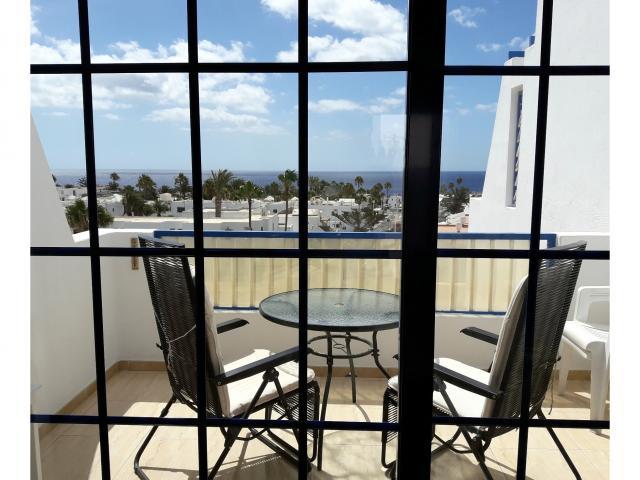 Sunny balcony - Atalaya Apartments, Puerto del Carmen, Lanzarote