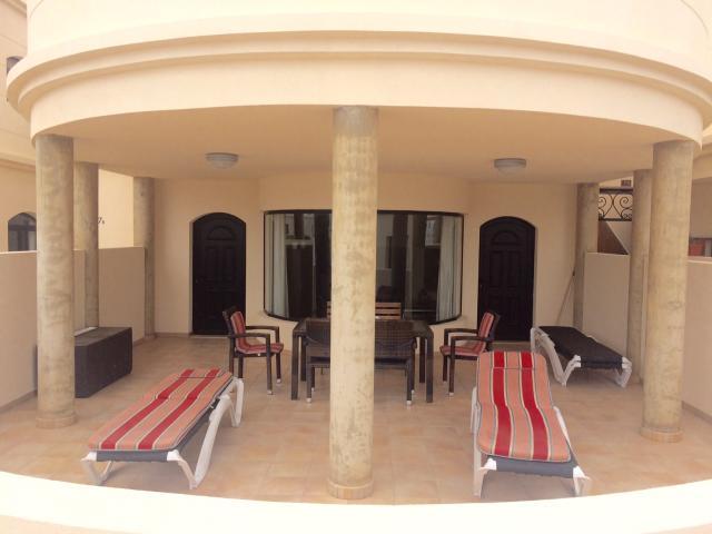 Outdoor dining terrace - Riviera Park, Puerto del Carmen, Lanzarote
