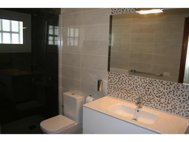 Walk in shower, master bathroom en-suite - Private 3 bed villa, Puerto del Carmen, Lanzarote