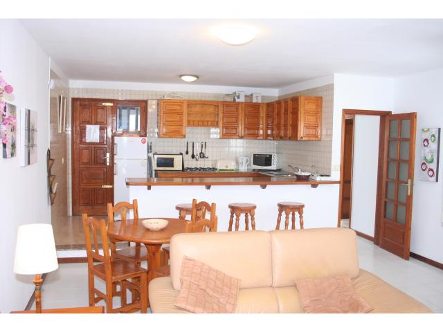 Galley style Kitchen! - Private 3 bed villa, Puerto del Carmen, Lanzarote