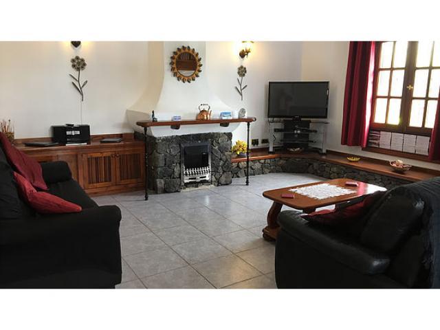 Living Room - Casa Ferra, Puerto del Carmen, Lanzarote