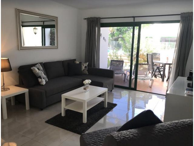 Modern 1 bedroom apartment set in tranquil grounds with communal pool on popular complex in Puerto Del Carmen