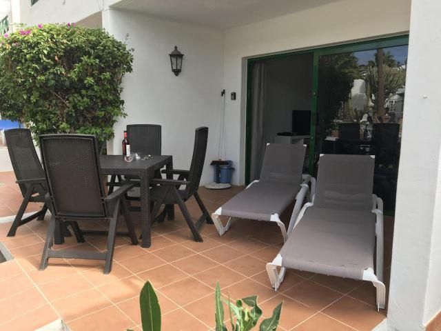 Patio - Apartment L16, Puerto del Carmen, Lanzarote
