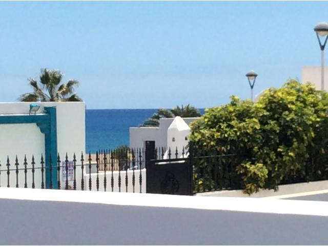 View from the garden - Calle Burgao, Puerto del Carmen, Lanzarote
