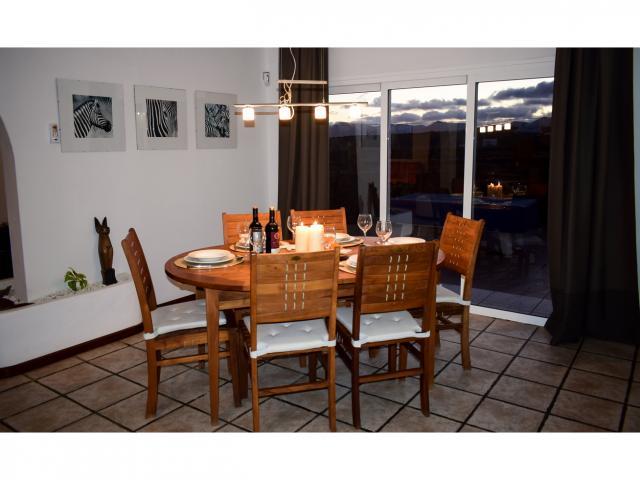 Indoor Dining - Villa Kura, Puerto del Carmen, Lanzarote